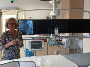 Besuch im Herzkatheterlabor