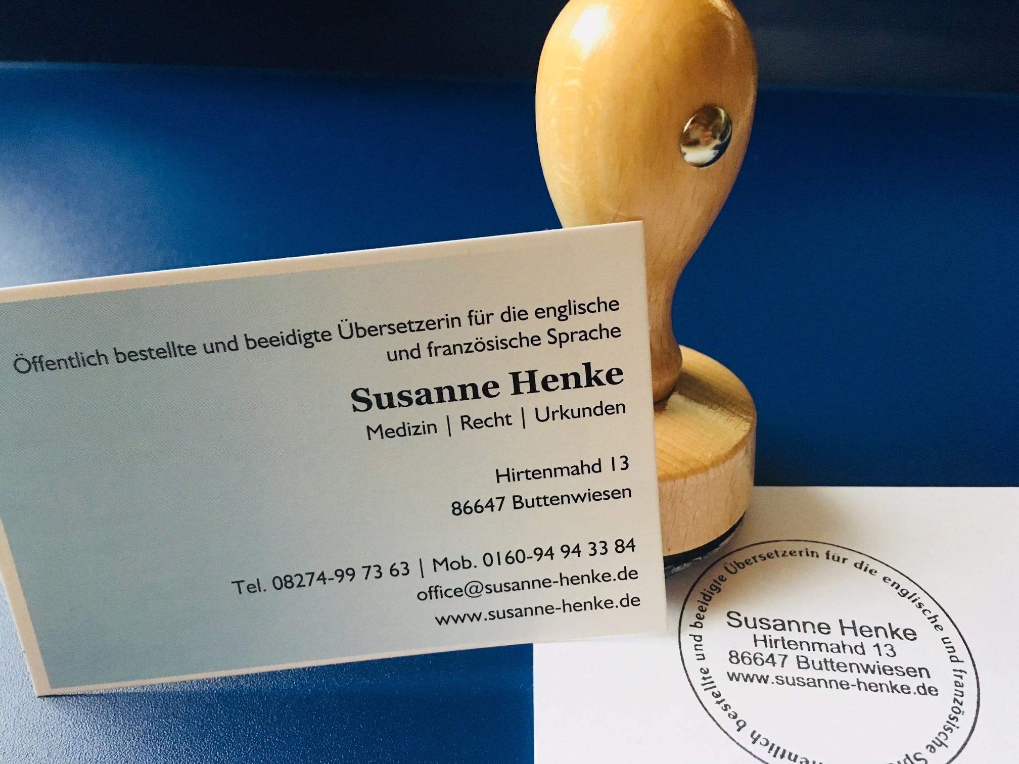 Beglaubigte übersetzungen Susanne Henke übersetzungen Medizin