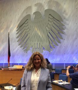 Plenary Hall of the World Conference Center in Bonn